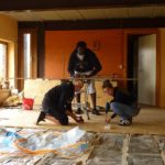 chantier crypte mons 2009
