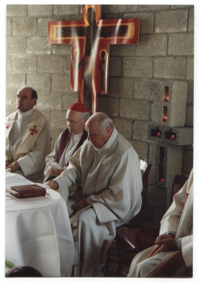 consécration de la chapelle